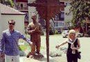 Споменик идеологу кољача усред Бањалуке
