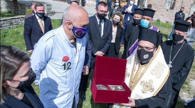 Цркви враћене мошти српског краља Владимира