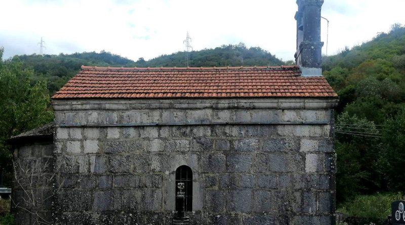 Црква у којој је служио Свети Василије Острошки