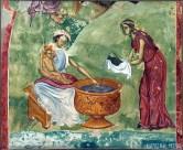 06-Kupanje-Hrista-iz-rodjenja-Hristovog-Sopocani