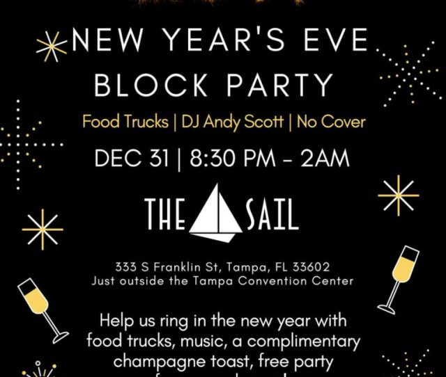 Downtown Tampa New Years Eve The Sail