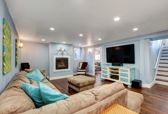 how to stage a living room - tampa bay homes for sale