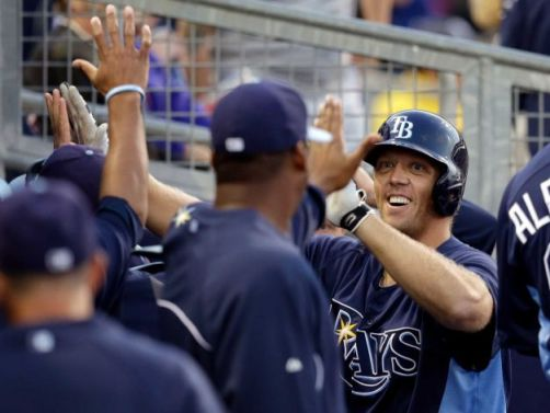 Introducing the Rays defacto DH, Shelley Duncan