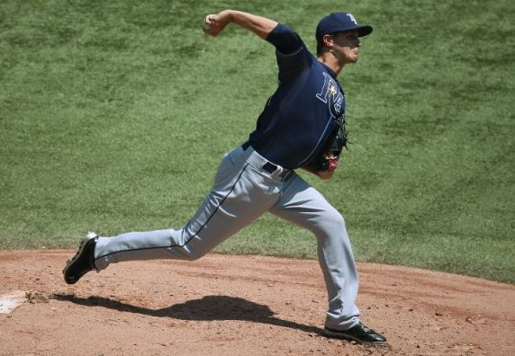 Jake Odorizzi settled in nicely, posting a 5.0 IP/5 H/3 R/3 ER/1 BB/6 K line on 92 pitches (58 for strikes).