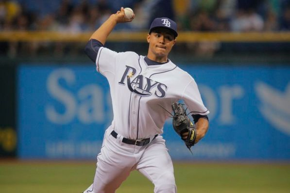 Rays starter Chris Archer allows one run over seven innings for his second career win. (Edmund D. Fountain/Times)
