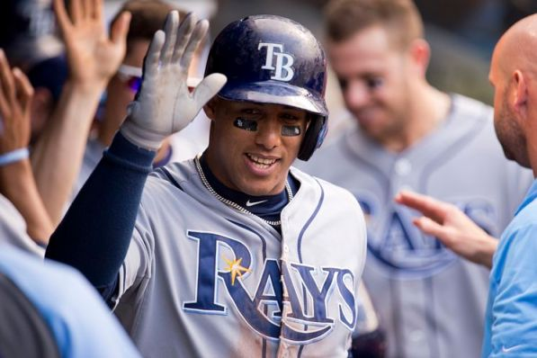 Yunel Escobar and the Rays head to New York to take on the Yankees Friday.