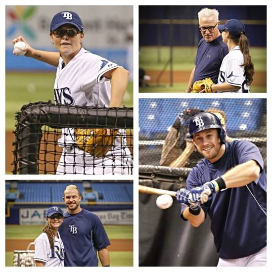 (Photo, courtesy of the Tampa Bay Rays)