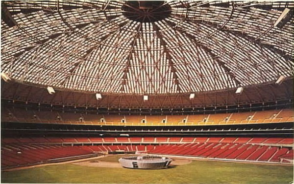 The Houston Astro Dome, former home of the Astros.