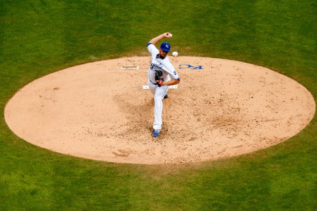 The Royals have won 42 of the 68 starts James Shields has made for the team in the last two seasons, their first consecutive winning campaigns in two decades.  (Photo courtesy of Kyle Rivas/Getty Images, caption courtesy of the New York Times)