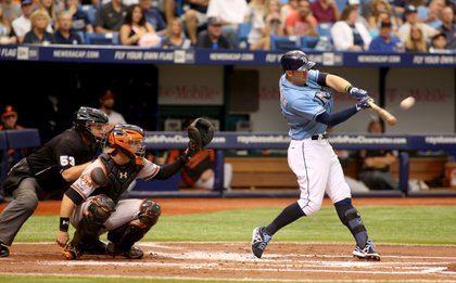 Click the photo to be redirected to video of Evan Longoria and James Loney's back-to-back homers in the first inning.