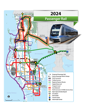 The addition of light-rail in 2024.