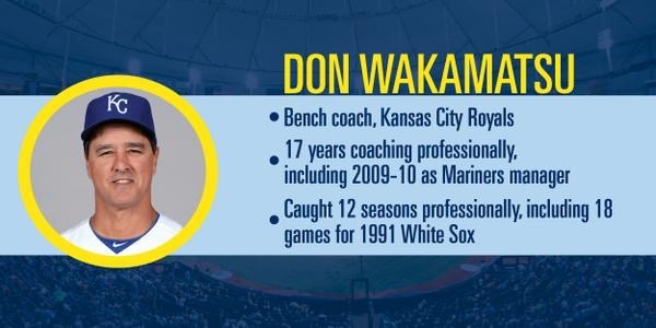 To better know Don Wakamatsu. (Courtesy of the Tampa Bay Rays)