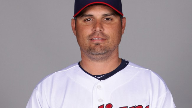 Kevin Cash, who is one of three finalists in the Rays managerial search, was the Indians' bullpen coach in 2014. (Getty)