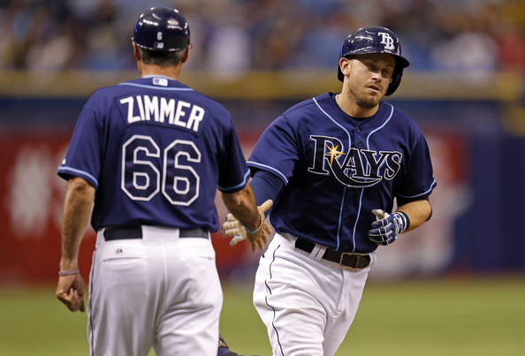 Tom Foley (left) is the Rays new bench coach.
