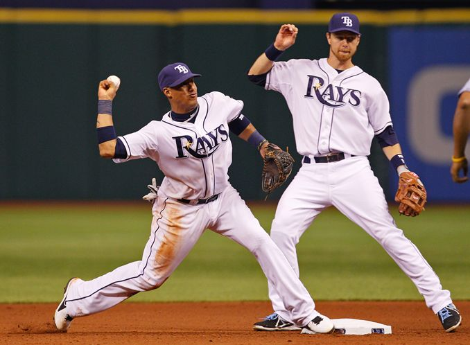 Yunel Escobar and Ben Zobrist have been traded to the Athletics.