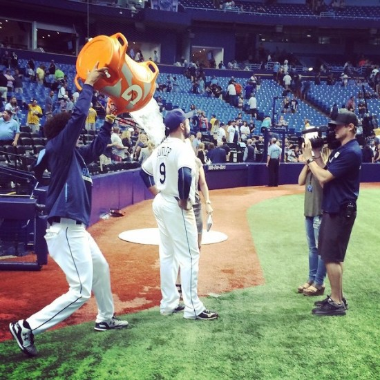 (Photo Credit: the Tampa Bay Rays.)