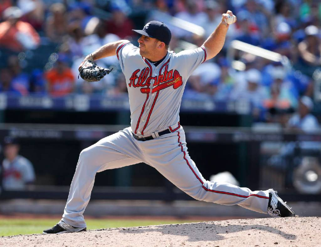 The Rays are close to signing 32 year-old LHP Dana Eveland to a Minor League deal. (Photo Credit: Atlanta Sports Page)