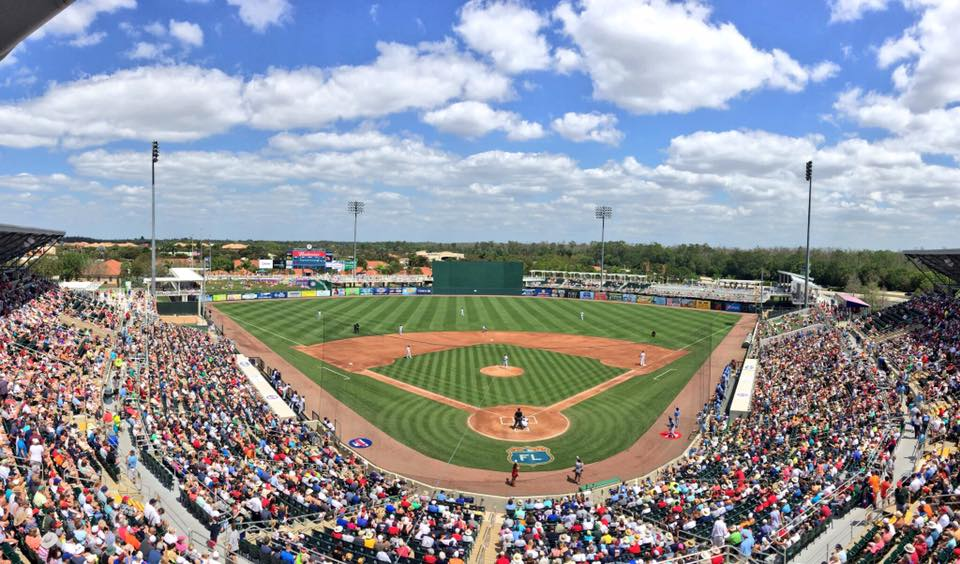 The Tampa Bay Rays c-squad took on the Minnesota Twins in Ft. Myers Wednesday afternoon. (Photo Credit: Tampa Bay Rays)