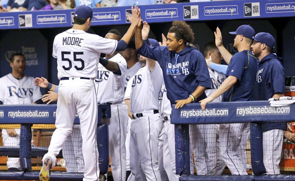 Matt Moore put together an excellent quality start on Tuesday night. (Photo Credit: Tampa Bay Rays)