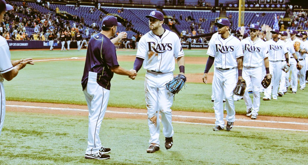 The Tampa Bay Rays handed the Orioles their first shutout of the season. (Photo Credit: Tampa Bay Rays)