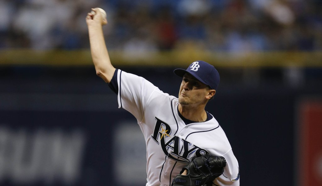 Jake Odorizzi will take the mound for the Tampa Bay Rays on Friday in the series opener against the White Sox. (Photo Credit: Tampa Bay Rays)