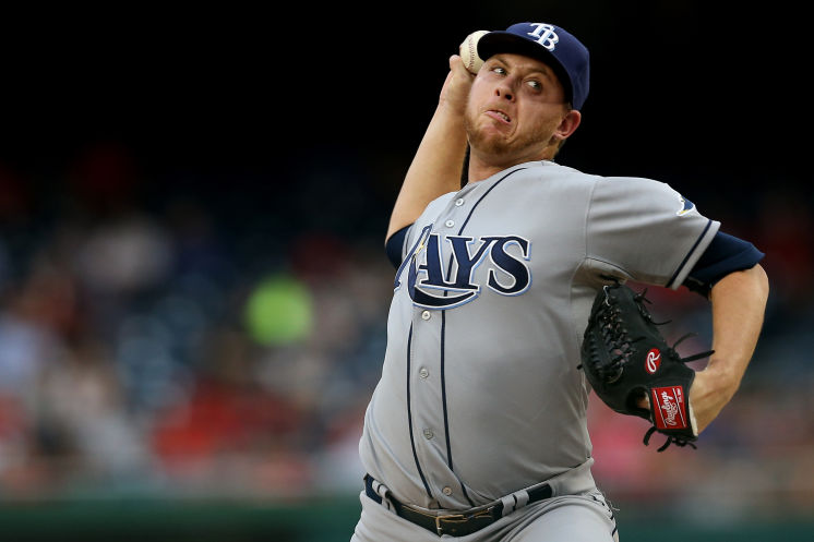 Designated for assignment by the Tampa Bay Rays last week, RHP Steve Geltz has been claimed off waivers by the Milwaukee Brewers. (Photo Credit: (Patrick Smith/Getty Images)