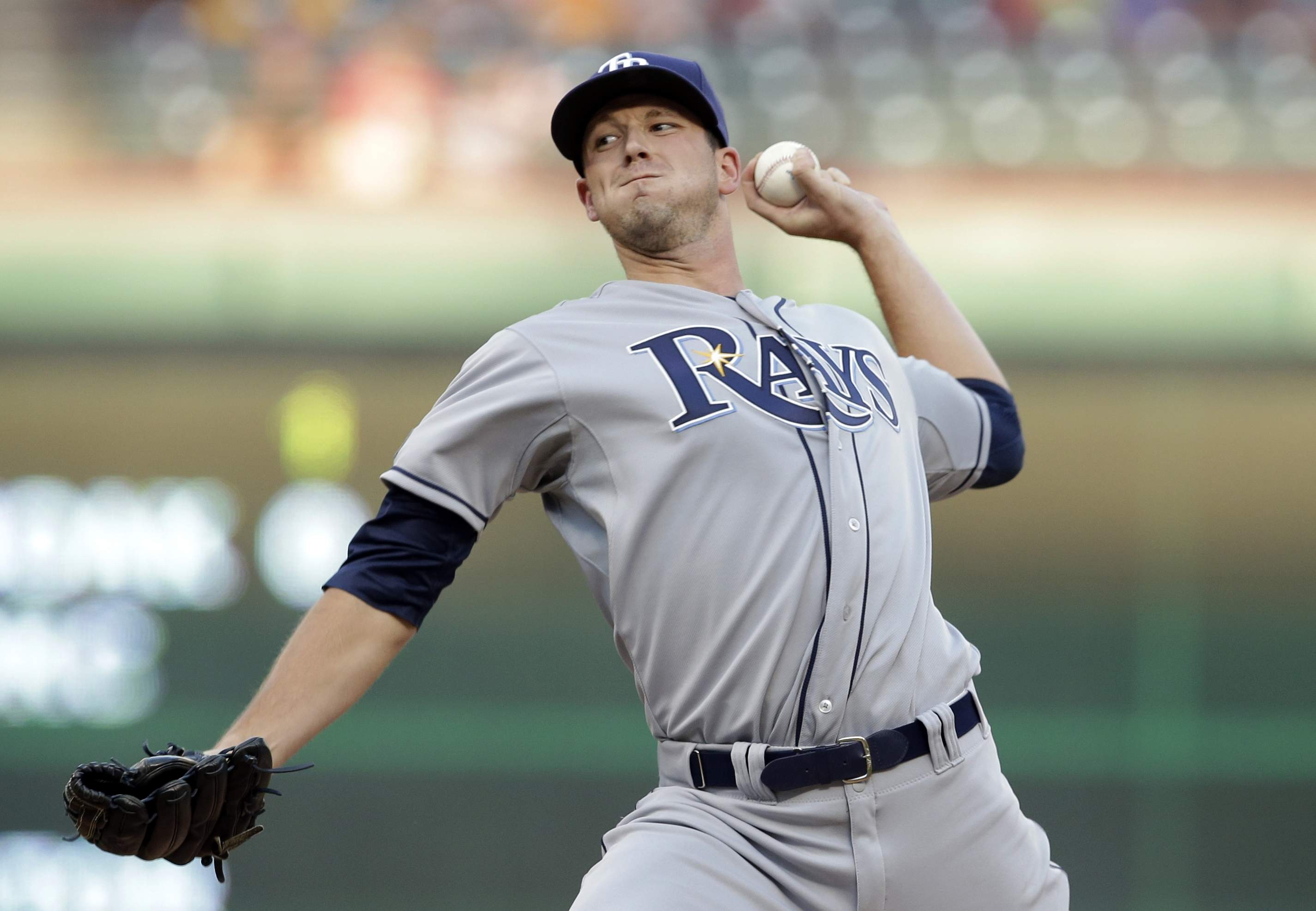 Trade candidate: LHP Drew Smyly. (Photo Credit: the Associated Press)