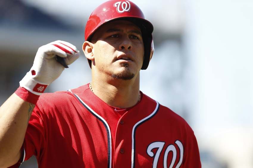 Meet the Rays newest catcher, Wilson Ramos. (Photo Credit: Geoff Burke/USA Today Sports)