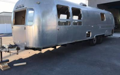 1974 Airstream Sovereign Renovation is Underaway
