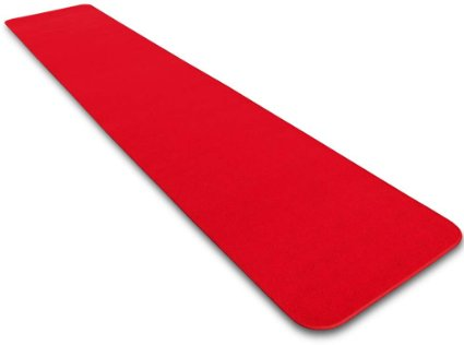 10 x 3 ft red carpet