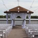 Weddings Ceremonies Gazebo decor at Hollywood venue
