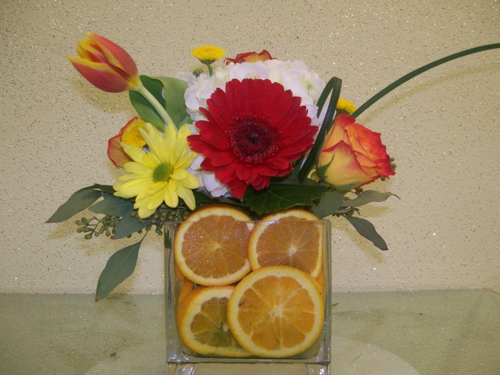 Citrus Centerpieces