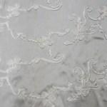 Ribbon taffeta tablecloths - SILVER