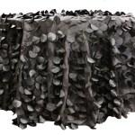 Petal Circle Taffeta tablecloths Rentals