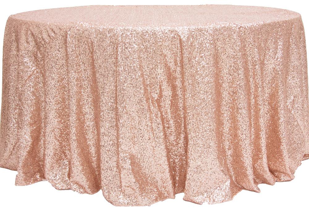 Glitz Blush Tablecloth