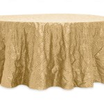 Scale Tablecloths Rentals - GOLD