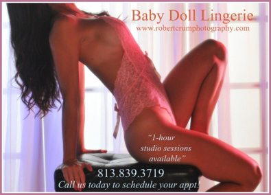Tampa Baby Doll Lingerie Photo Sessions by Crum Photo Studios