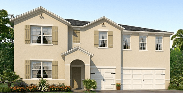 McKinley Oaks Parrish Fl New Homes