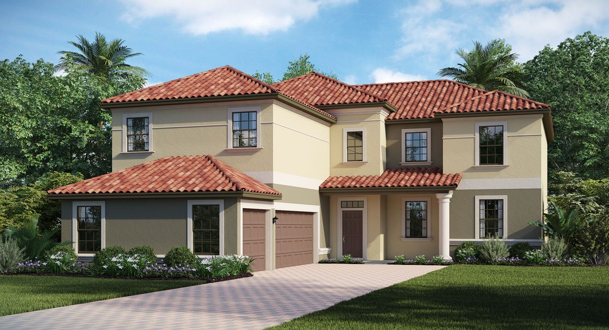 Concord-Station/The-Retreat/Buckingham 3711 sq.ft. 4 Bedrooms 3 Bathrooms 3 Car Garage 2 Stories Land O Lakes Florida