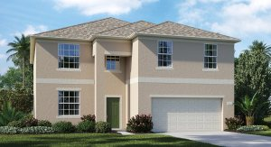 Concord-Station/Wellington-Estates/Maple 2858 sq.ft. 5 Bedrooms 2.5 Bathrooms 3 Car Garage 2 Stories Land O Lakes Florida