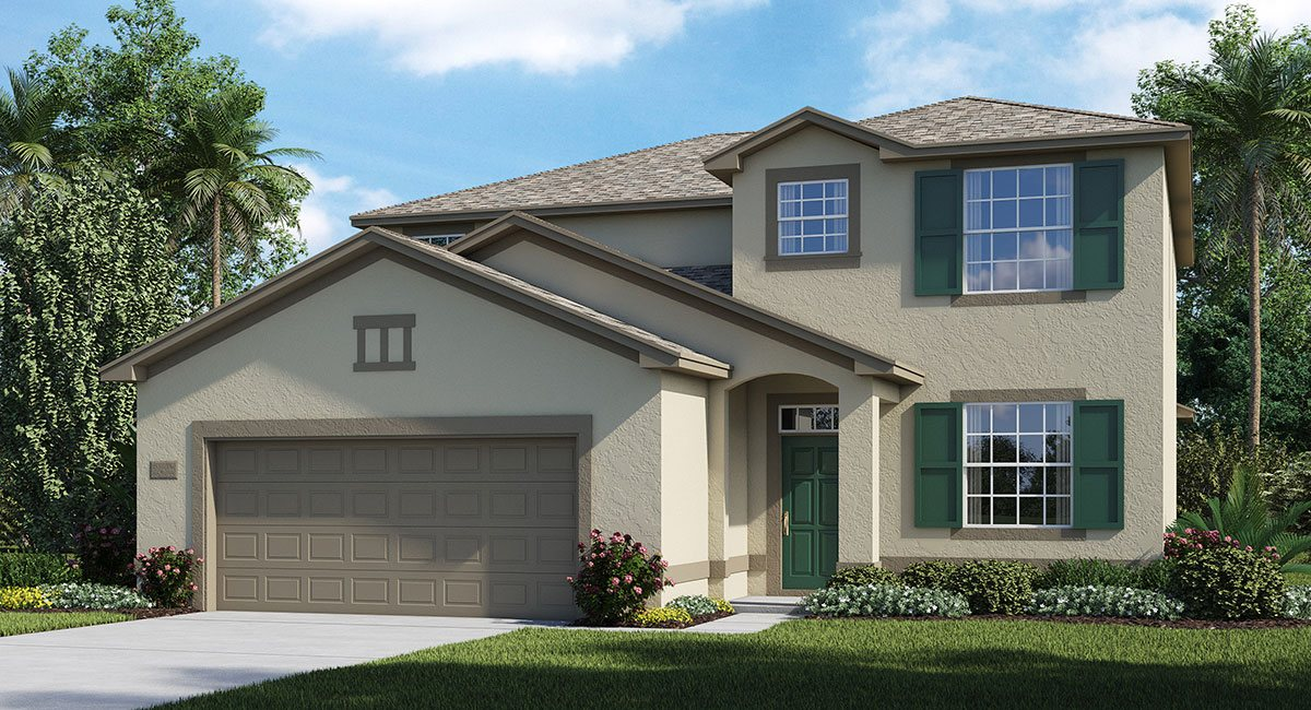 Concord-Station/Wellington-Estates/Mayflower 2529 sq.ft. 4 Bedrooms 3 Bathrooms 2 Car Garage 2 Stories Land O Lakes Florida