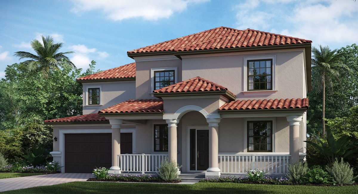 Lennar Homes Concord Station Land O Lakes Florida
