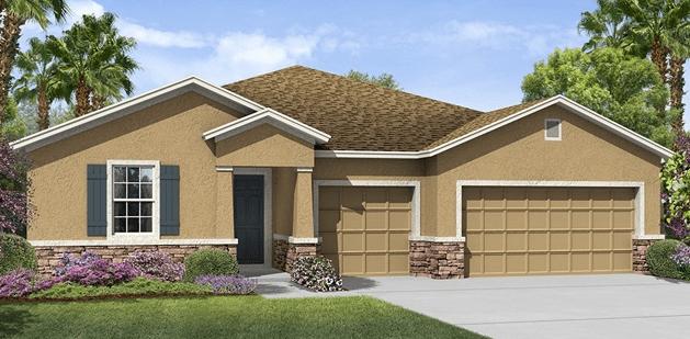 Riverview Florida Concrete Block New Home Construction