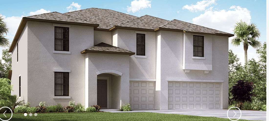 Stillwater-at-South-Fork The Himalayan 4,054 sq. ft. 7 Bedrooms 4 Bathrooms 3 Car Garage 2 Stories Riverview Fl