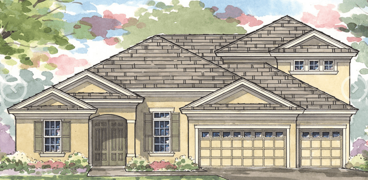 Riverview Florida Waterleaf New Home Community