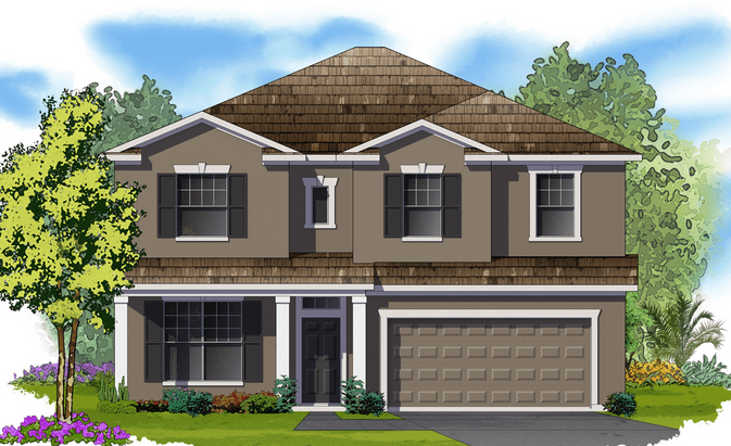 New Home Plan in Waterleaf Riverview Florida