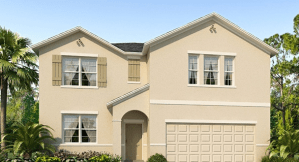 Home Of The Week New 2 Story Single Family DR Horton Homes Riverview Florida 33578