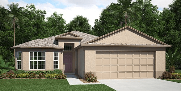 RIVERVIEW FLORIDA| THE OAKMONT | 1724 SQ FT | 3 Bedrooms | 2 Bath | 2 Car