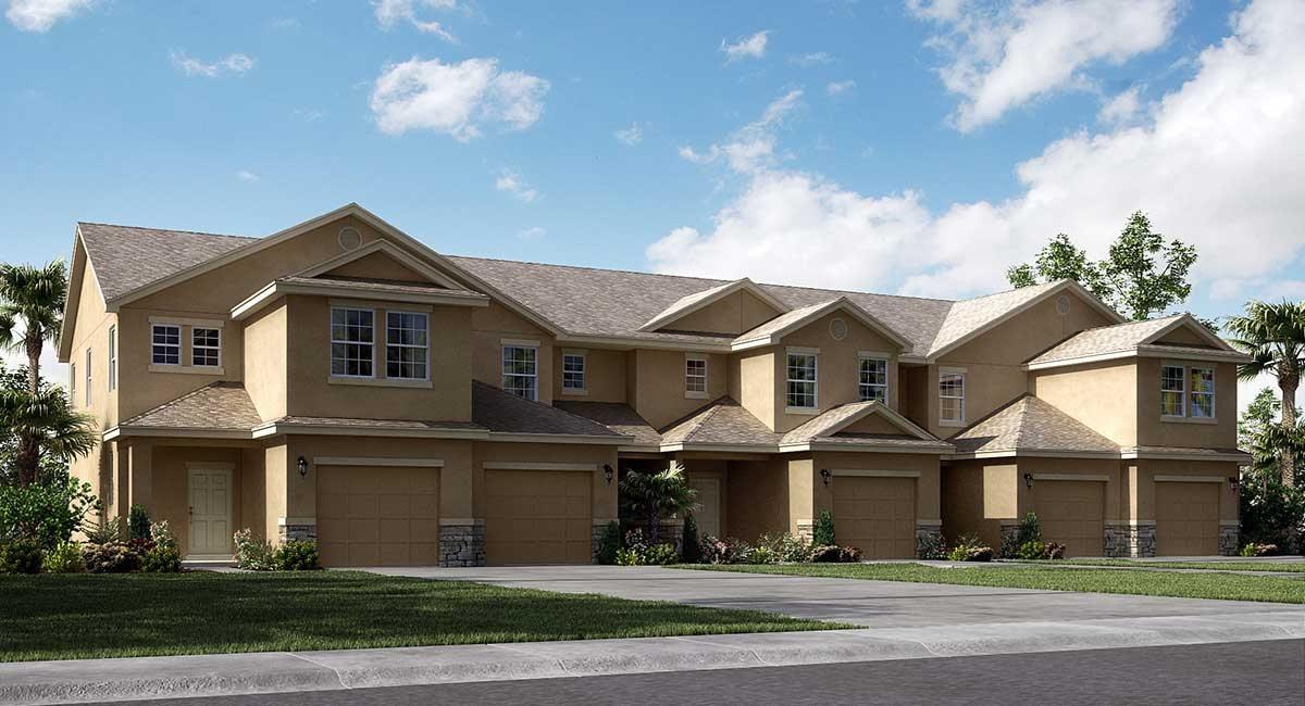 Chelsea Oaks Townhomes Westbrook 1,625 sq. ft. 3 Bedrooms 2.5 Bathrooms 1 Half bathroom 1 Car Garage 2 Stories Lakeland Fl