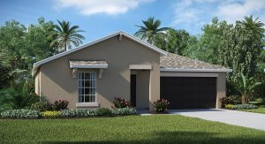 Ayersworth The Dover  1,556 sq. ft. 3 Bedrooms 2 Bathrooms 2 Car Garage 1 Story Wimauma Fl